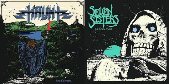 Seven Sisters / Haunt - Sea of Dreams / The Crystal Temple