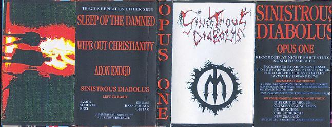 Sinistrous Diabolus - Opus One