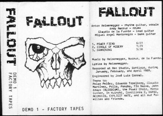 Fallout - Demo 1 - Factory Tapes