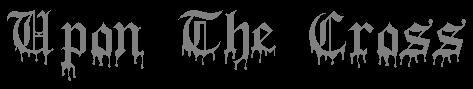 Upon the Cross - Logo