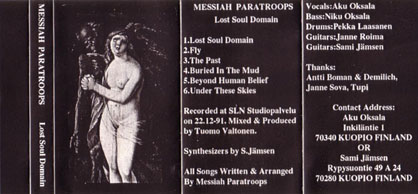 Messiah Paratroops - Lost Soul Domain