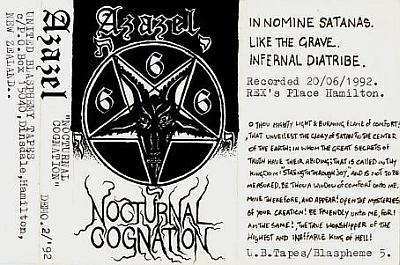 Azazel - Nocturnal Cognation - Encyclopaedia Metallum: The