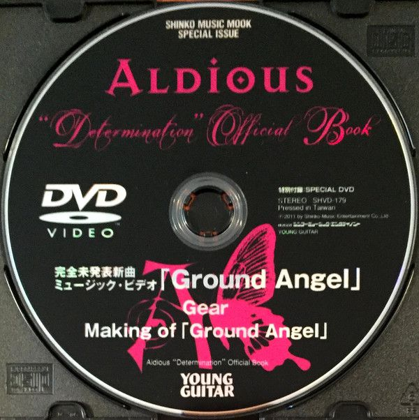 "Aldious - ""Determination"" Official Book"