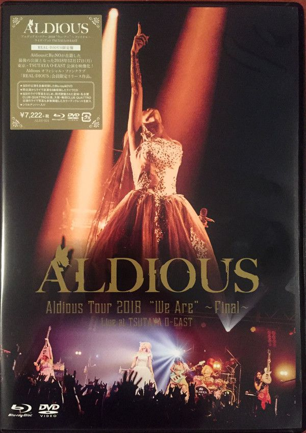 "Aldious - Aldious Tour 2018 ""We Are"" ~Final~"