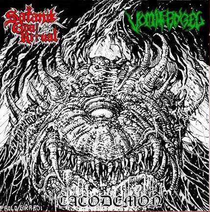 Satanik Goat Ritual / Vomit Angel - Cacodemon