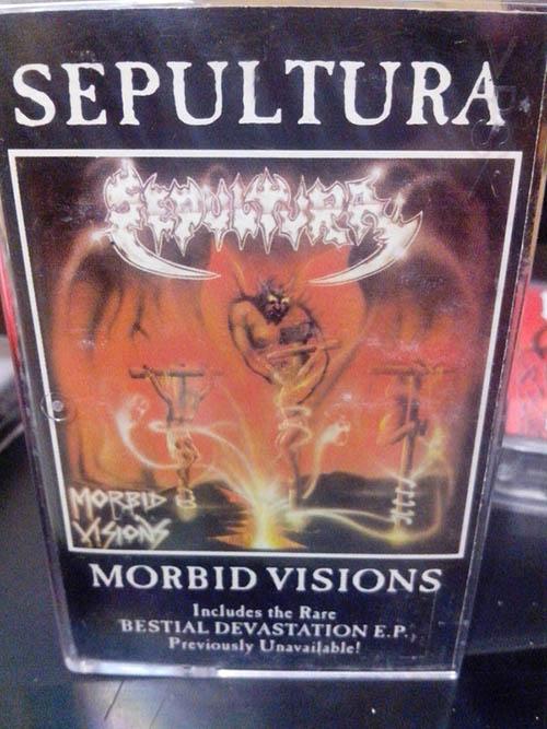 Sepultura - Morbid Visions / Bestial Devastation