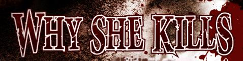Why She Kills - Logo