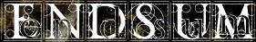 Endsum - Logo