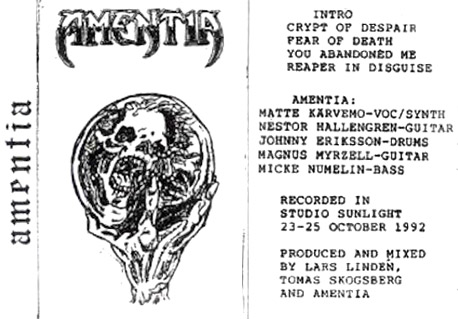 Amentia - Demo 1992