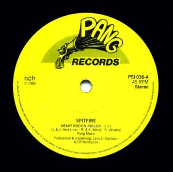 Spitfire - Heavy Rock'n Roller