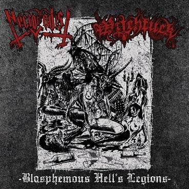 Necrosadist / Witchfuck - Blasphemous Hell's Legions