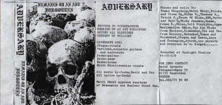 Mutilated - In Memoriam
