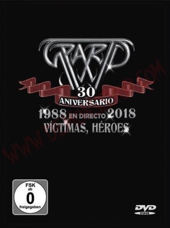 Sparto - 30 aniversario - 1988 en directo 2018 - Víctimas, héroes