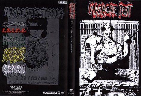 Disgorge / Oxidised Razor / C.A.R.N.E. / Semen - Masacre Fest