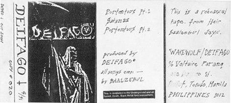 Deiphago - Rehearsal / Demo