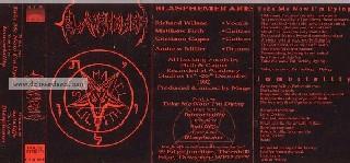 Blasphemer - Demo 1992