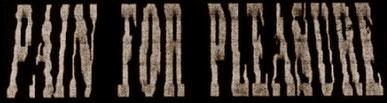 Pain for Pleasure - Logo