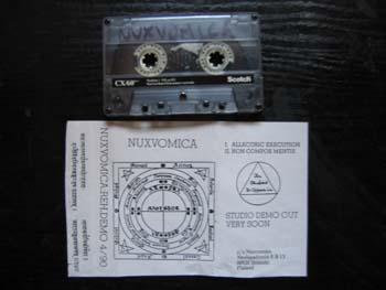 Nuxvomica - Rehearsal / Demo 1990
