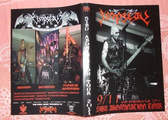 Impiety - Sibu Abomination Tour 2011
