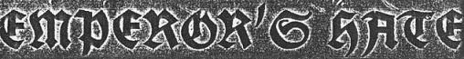 Emperor's Hate - Logo