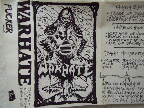 Warhate - Thrash Invasion