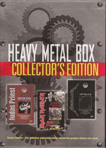 Iron Maiden / Judas Priest / Metallica - Heavy Metal Box