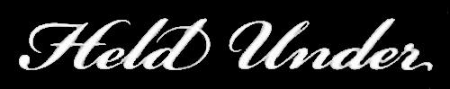 Held Under - Logo