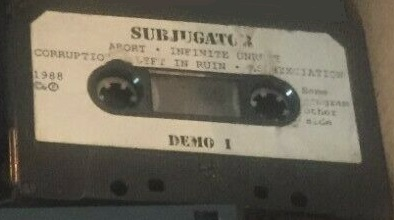 Subjugator - Demo 1988