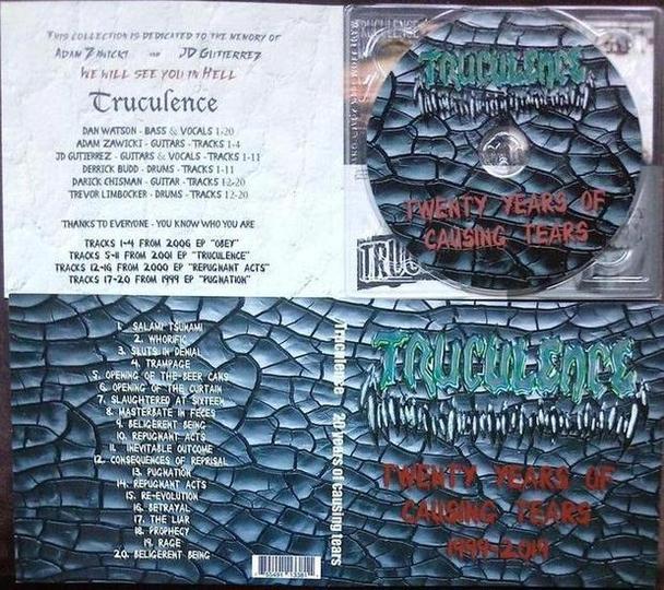 Truculence - Twenty Years of Causing Tears
