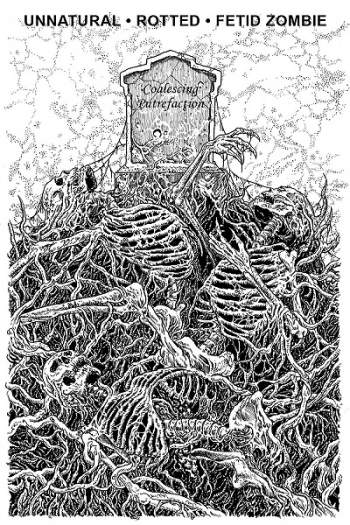 Fetid Zombie / Unnatural / Rotted - Coalescing Putrefaction