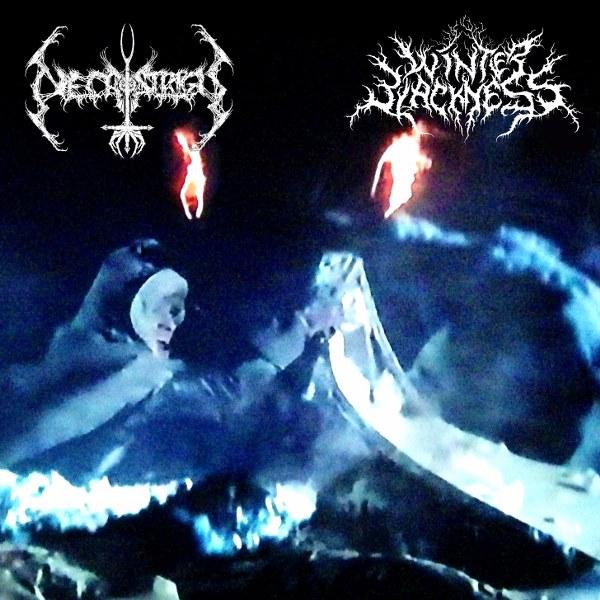 Necrostrigis / Winter Blackness - W mrokach roziskrzonych mrozem