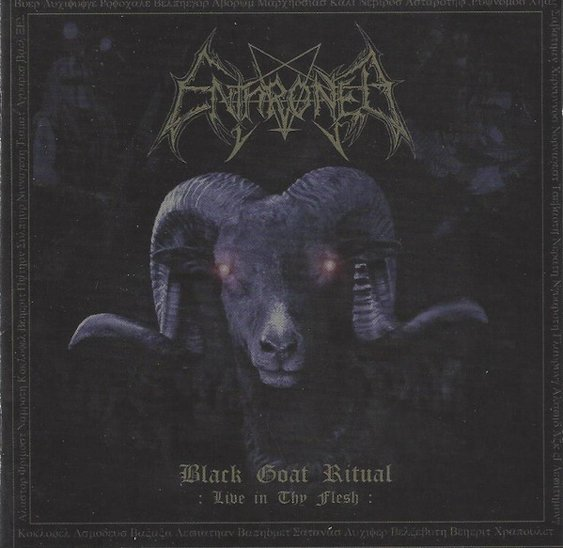 Enthroned - Black Goat Ritual (Live in Thy Flesh)
