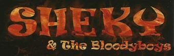 Sheky & the Bloody Boys - Logo