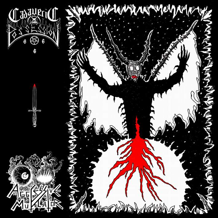 Aggressive Mutilator / Cadaveric Possession - Influx of Hatred