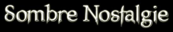 Sombre Nostalgie - Logo