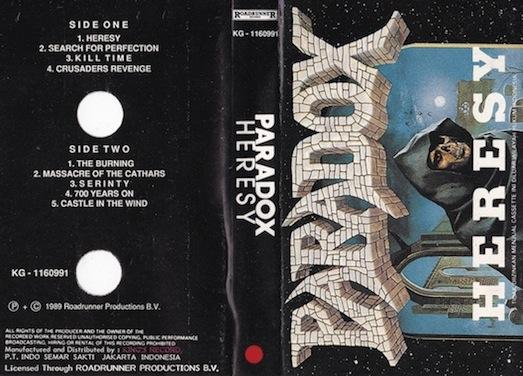 Paradox - Heresy