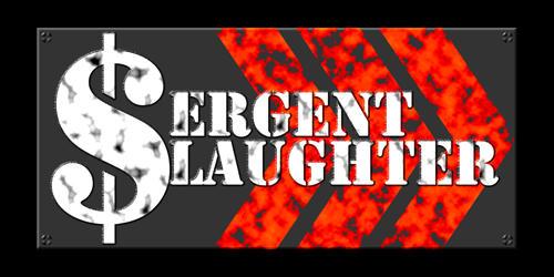 Sergent Slaughter - Logo