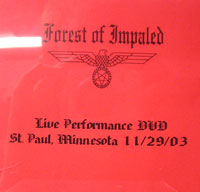 Forest of Impaled - St. Paul, Minnesota 11/29/03