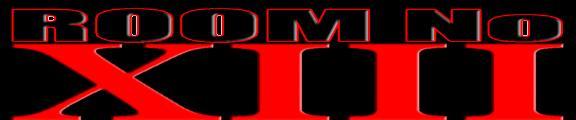 Room No. XIII - Logo