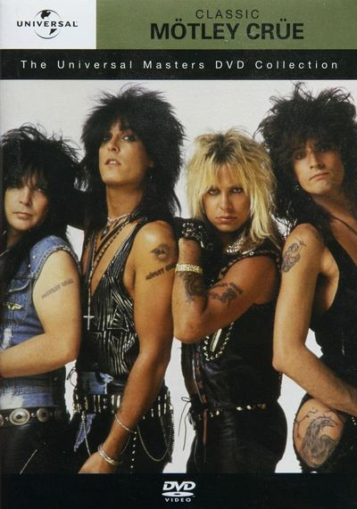Mötley Crüe - The Universal Masters DVD Collection