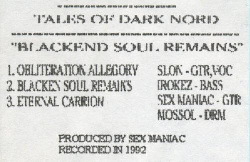 Tales of Darknord - Blackened Souls Remains
