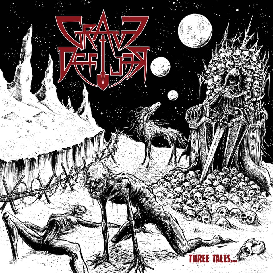 Grave Defiler - Three Tales of Dark Gods, Corpses and Rotting Horses