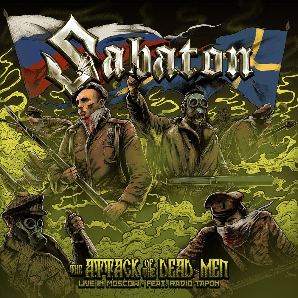 Sabaton - The Attack of the Dead Men (Live in Moscow)
