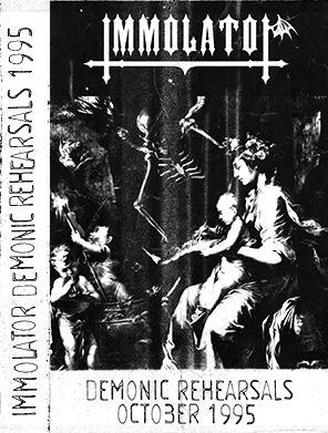 Immolator - Demonic Rehearsals
