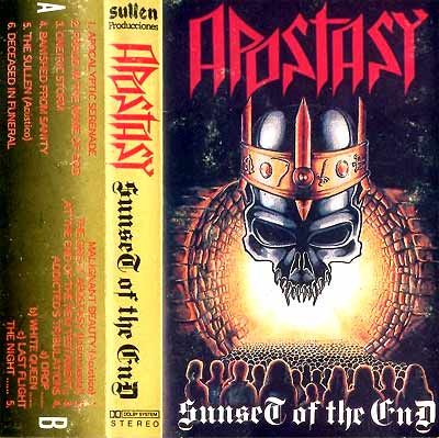Apostasy - Sunset of the End