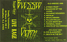 Blessed Death - Live Rage