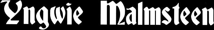 Yngwie J. Malmsteen - Logo