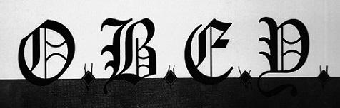 O.B.E.Y. - Logo