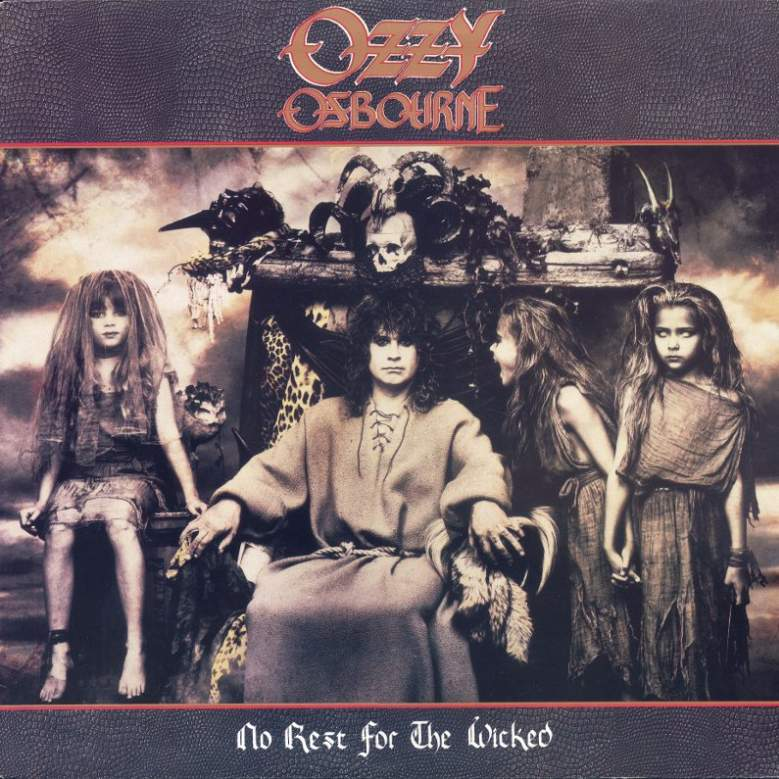 Risultati immagini per Ozzy Osbourne No Rest for the Wicked