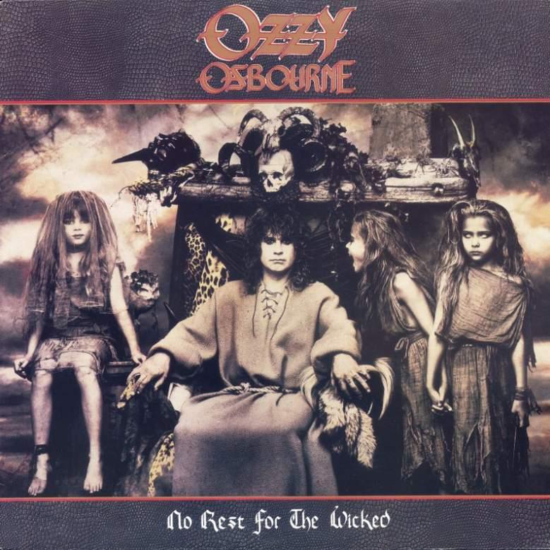 Risultati immagini per Ozzy Osbourne No Rest for the Wicked